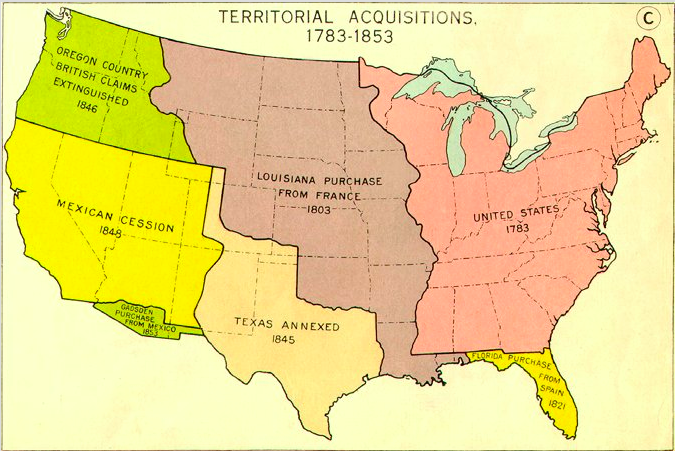 Map Of Texas In 1800.Unit 2a Westward Expansion 1800 1840s